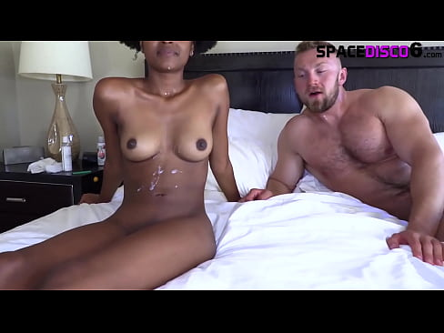 Massive Hairy White Jock Vs Ebony Princess