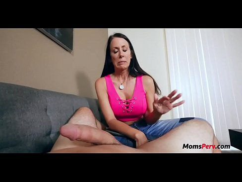 Girlfiends mom shocked at huge dick