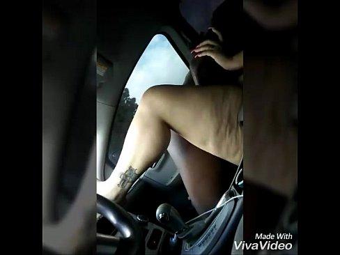 Latina car sex tube