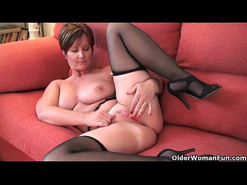 Milf films her dildo training