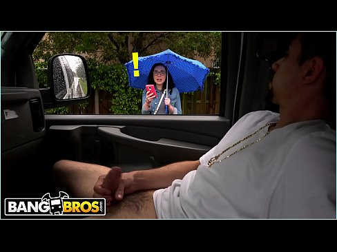 BANGBROS – Scarlett's Wild Ride On The Bang Bus During A Rainy Day