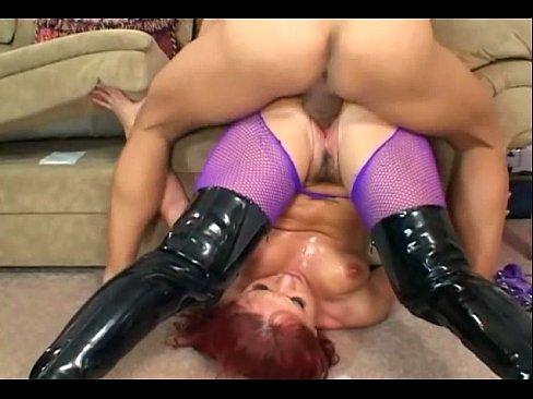 Katja Kassin anal in pantyhose