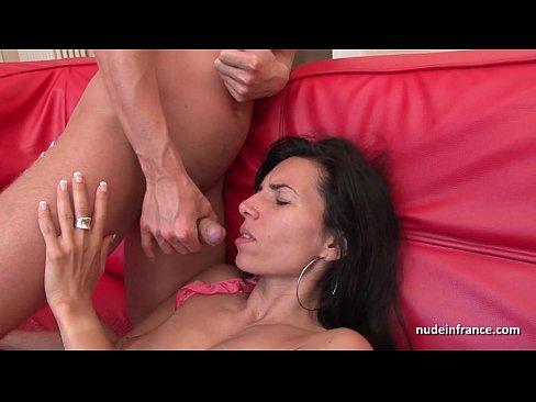 Mature anal then cum
