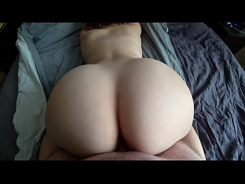 Girl with a big ass loves slow and gentle sex