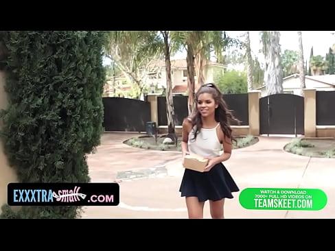 exxxtrasmall - sexy petite latina fucks neighbor