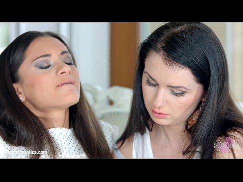 Kittina Cox and sexy Shrima Malati enjoying eachother on Sapphic EroticaXXX Sex Videos 3gp