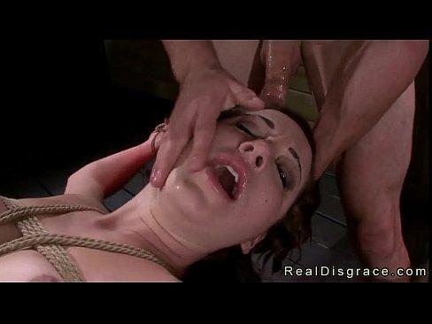 Blindfolded Tied Up Gangbanged