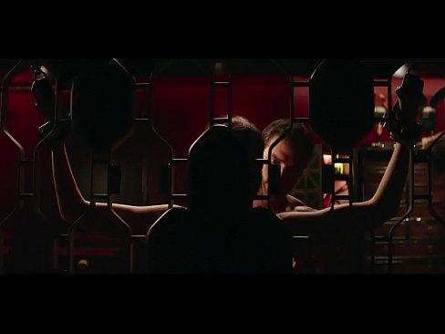DAKOTA JOHNSON breasts underwear scene in Fifty Shades Freed's Thumb