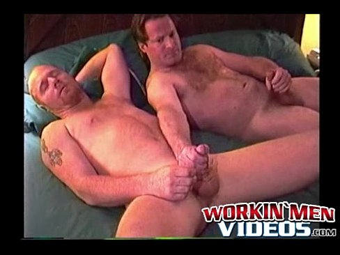 amateur mature men jerking each other