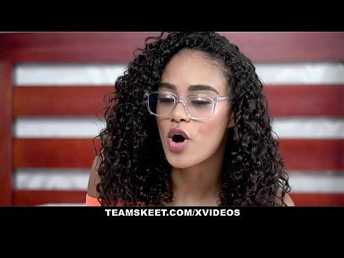 TeenyBlack - Gorgeous Tiny Black Girl Gets Fucked Hardcore By BWC Stud