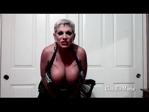 Huge Fake Tit Claudia Marie Gloryhole Fantasy Jack Off Encouragement