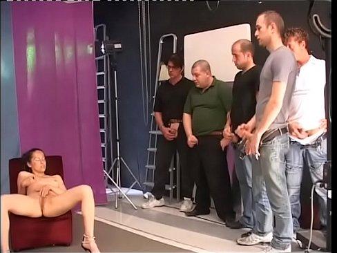 three sluts licking and blowing