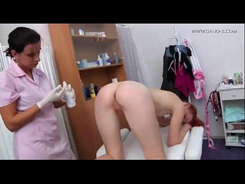 Horny slut gets fucked on table