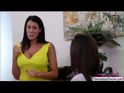 Reagan Foxx masturbating Lilys pussy
