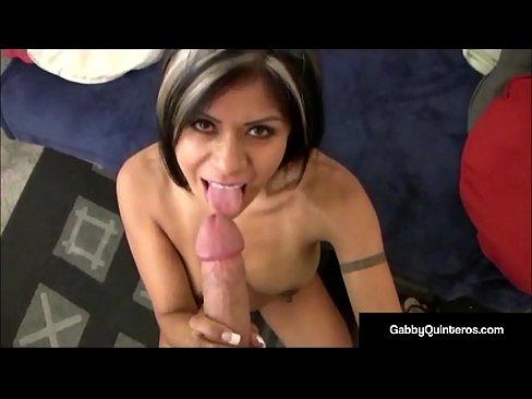 Latina Slut Gabby Quinteros Takes A Big Cock Pounding