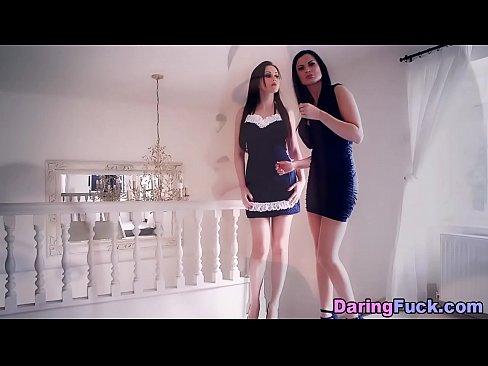euro maid beauty jizzed