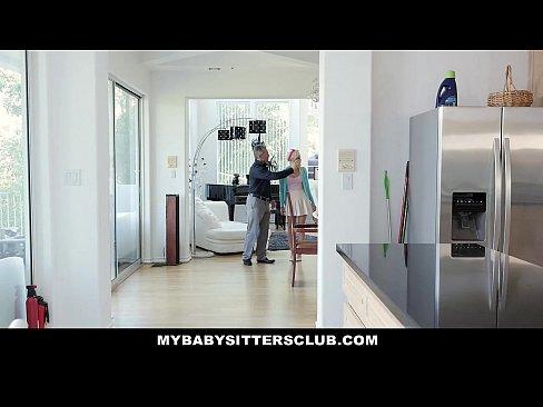 MyBabysittersClub – Super Cute BabySitter Fucks For Money