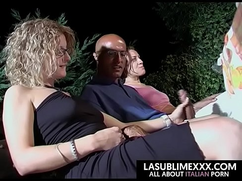 orgia italiana allaperto