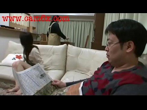 Japanese Schoolgirl Gets Cock