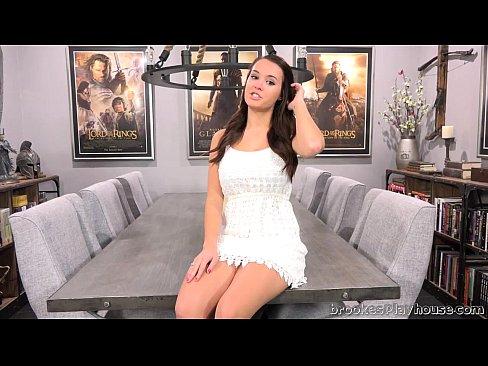 Brooke Makes Herself Cum In Her Castle Room