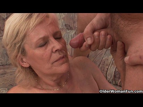 Grandma Gets A Facial