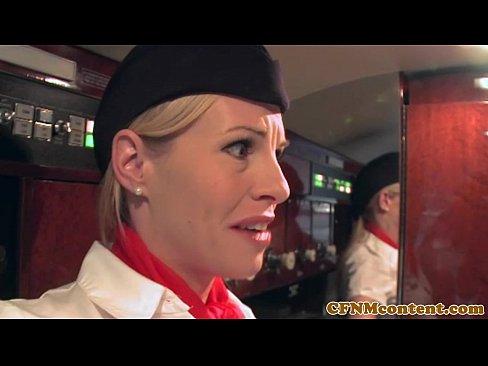 Fucking Air Stewardess