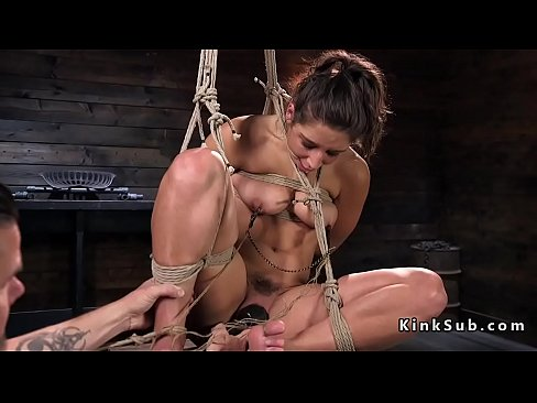 Sexy Babe Tied Up Fucked
