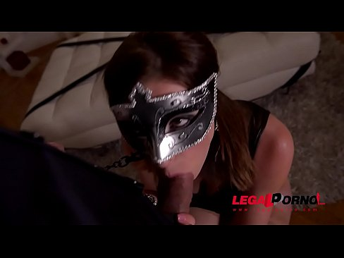 foxy submissive victoria daniels spanked gagged and ass fucked balls deep gp065