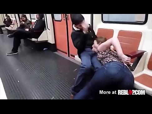 public blowjob barcelona subway