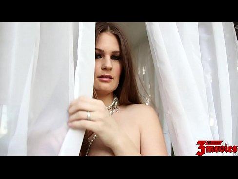 Allison Moore Has Big Cum Covered Tits