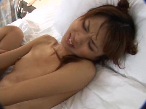 Skinny Asian Anal