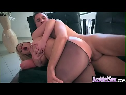 Deep Anal Hard Sex With Big Round Butt Oiled Up Girl (Brooklyn Chase) vid-10