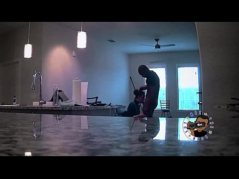 NEIGHBORS YOUNG WIFE COMES OVER TO COMPLAIN BUT GETS BBC CREAMPIE!!!