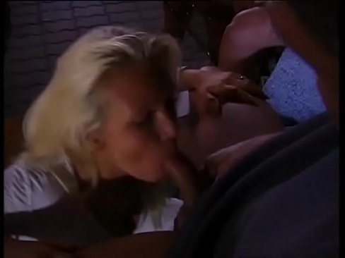 Blowjob threesome vintage porn consider, that