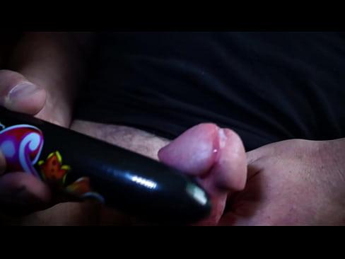 penis cum with my dildo vibration's Thumb