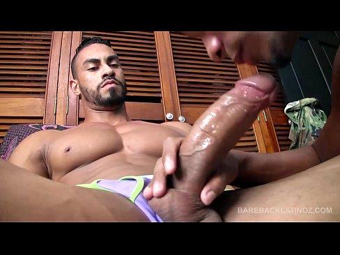 Latinos nicolao and julio bareback and breed