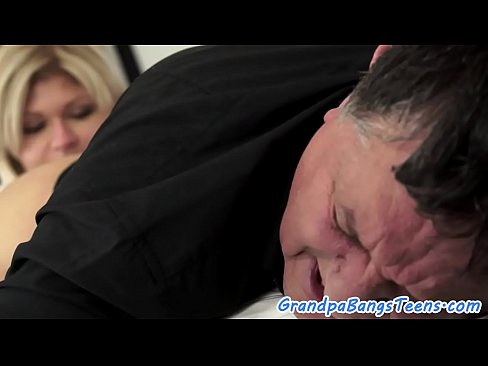 teen pleasures Grandpa