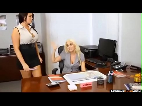 Horny Threesome With By Boss's Thumb