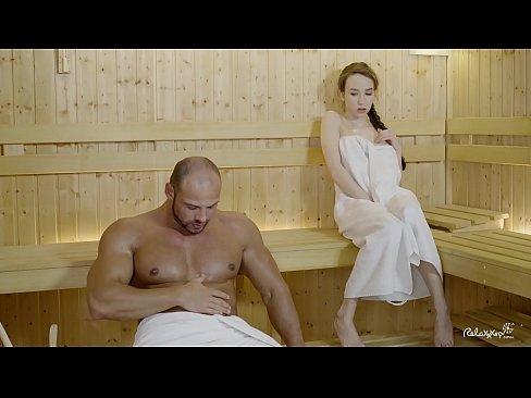 Grande cazzo in sauna