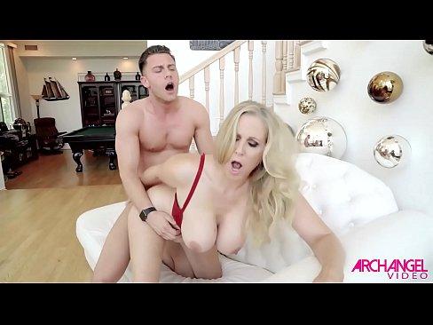 Ass between cheek cock her