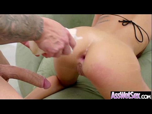 (alby rydes) big butt girl oiled all over get anal nail video-02