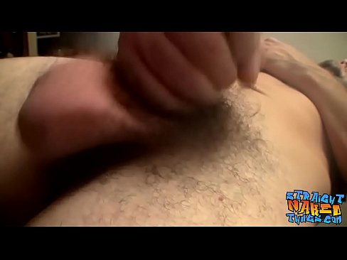 Straight thug is eager to unload his jizz after wanking's Thumb