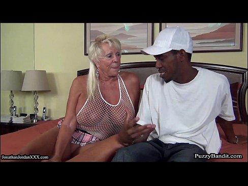 72 year old Grandma Craves Big Black Cock – 15 min