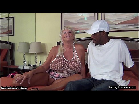 Mature german rides black dick