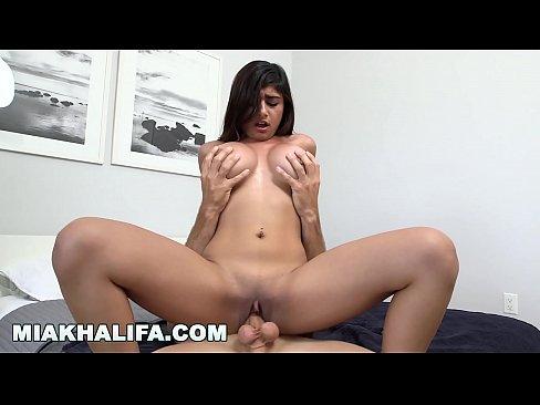 MIA KHALIFA - Big Tits Facing Forward, Riding Dick On Loop