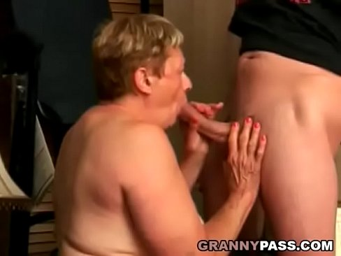 Cock grannys sucking share your