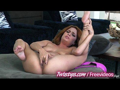 Two hot redhead masturbating – 5 min