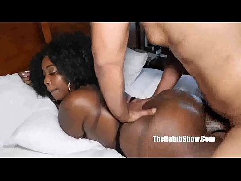 Wife black moans cums