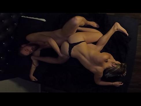 Couple Caught Having Romantic Rough Sex with A Lot of CUM