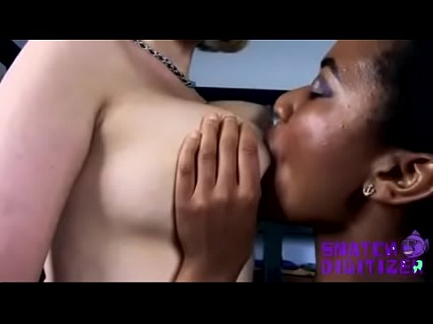 Young blonde and black man porn
